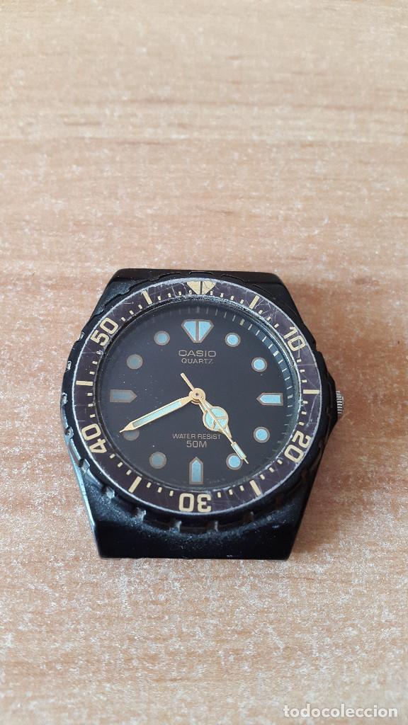 de36f58a23ff reloj pulsera casio quartz - water resist 50m - - Comprar Relojes ...