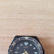 Relojes - Casio: RELOJ PULSERA CASIO QUARTZ - WATER RESIST 50M - 341 MRW-80. JAPAN - VER FOTO ADICIONAL. Lote 228362155