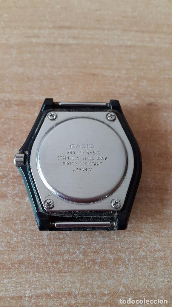 fd07ac94a821 Relojes - Casio  RELOJ PULSERA CASIO QUARTZ - WATER RESIST 50M - 341 MRW-