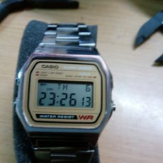 Relojes - Casio: VINTAGE CASIO CAJA METAL WR. Lote 92073538