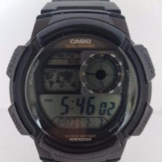 Relojes - Casio: RELOJ DE CABALLERO MARCA CASIO MODELO 3198. AE-1000W CON CORREA DE RESINA ORIGINAL FUNCIONANDO . Lote 92324500