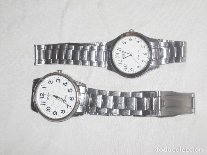2 RELOJES CASIO (Relojes - Relojes Actuales - Casio)