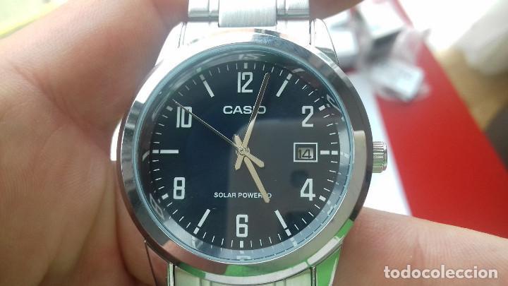 cec7e846d17b Relojes - Casio  Reloj Casio MTP-VS01D-2B Men s Watch Black SOLAR POWERED