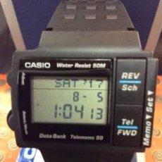 Relojes - Casio: RELOJ CASIO DB 57 W AÑO 1990 ¡¡¡ UNA JOYA !!! ¡ NUEVO !. Lote 128093295