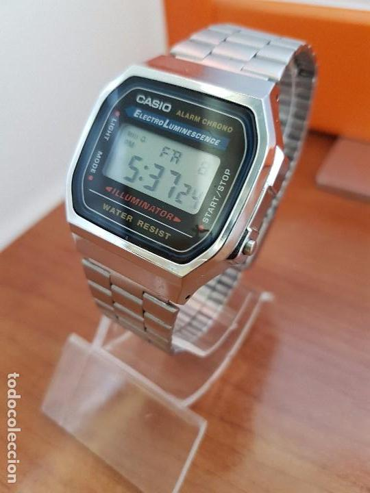 0ee3379b1c23 Relojes - Casio  Reloj caballero Casio digital con correa de acero original Casio  3298 -