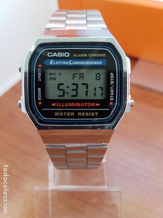 Through Caballero Casio Sold Con Digital De Reloj Correa Ace TlKF1Jc