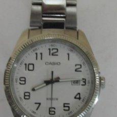 Relojes - Casio: RELOJ METÁLICO CASIO QUARTZ. Lote 98630979