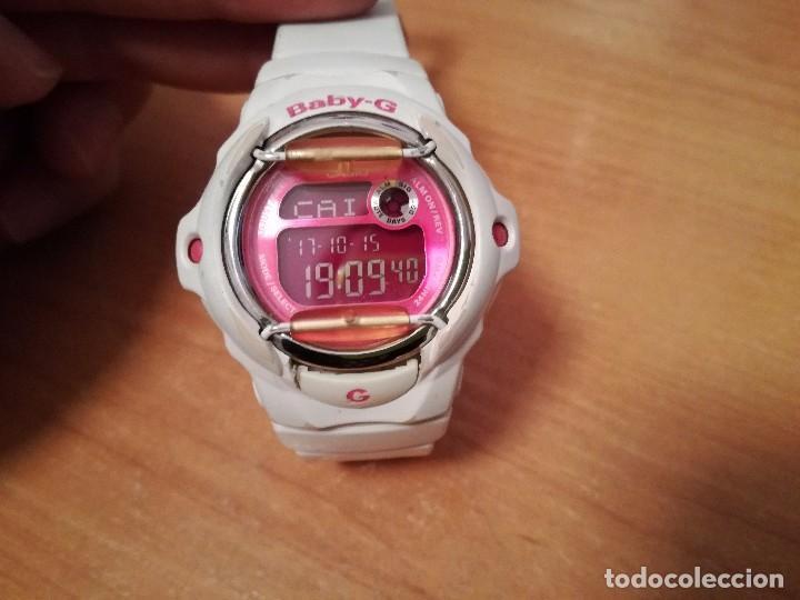 Increíble congestión Consejo  reloj casio baby g bg-169r blanco y rosa - Buy Casio Watches at  todocoleccion - 100508515