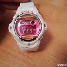 Relojes - Casio: RELOJ CASIO BABY G BG-169R BLANCO Y ROSA . Lote 100508515