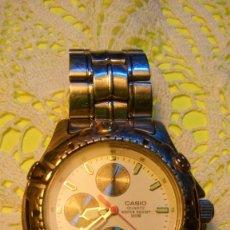 Relojes - Casio: C A S I O - MULTIFUNCION. SEMINUEVO. FUNCIONANDO TODO. BATERIA NUEVA. DESCRIP. Y FOTOS DIVERSAS.. Lote 102322031
