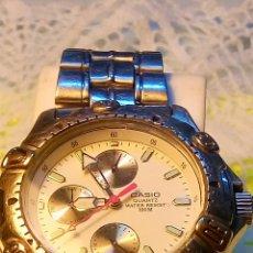 Relojes - Casio: CASIO - MULTIFUNCION. FUNCIONANDO TODO. BATERIA NUEVA. DESCRIP. Y FOTOS DIVERSAS.. Lote 102322031