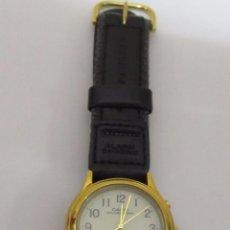 Relojes - Casio: RELOJ CASIO ILLUMINATOR CHAPADO EN ORO. Lote 103208939
