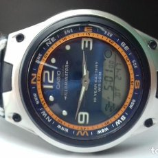 Relojes - Casio: RELOJ CASIO VINTAGE COLLECTION AW-82-2A MOON PHASE FISHING GEAR WATCH MONTRE NOS RELOJ NUEVO!!!. Lote 103408787
