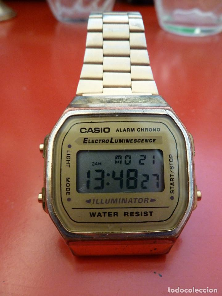 90596280b11e 7 fotos RELOJ DE PULSERA - CASIO - ELECTRO LUMINESCENCE - MODELO 3298 ( Relojes - Relojes Actuales ...