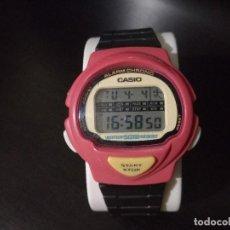 Relojes - Casio: RELOJ CASIO MODELO LJC-10 MÓDULO 1005 ROJO JOGGING. Lote 251465675