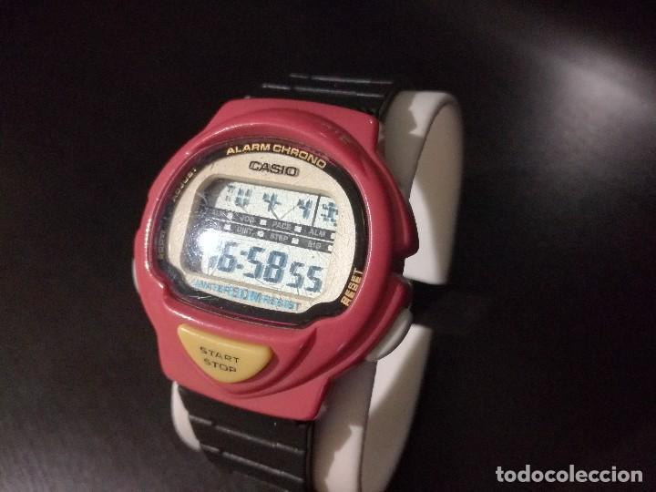 Relojes - Casio: reloj Casio modelo LJC-10 módulo 1005 rojo jogging - Foto 4 - 251465675