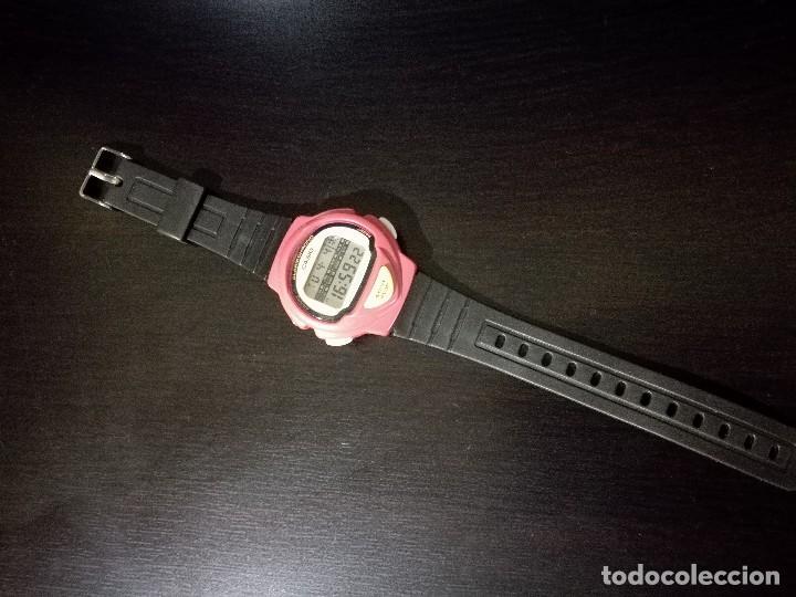 Relojes - Casio: reloj Casio modelo LJC-10 módulo 1005 rojo jogging - Foto 5 - 251465675