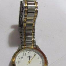 Relojes - Casio: RELOJ CASIO DE CUARZO, CHAPADO EN ORO. Lote 107594739