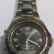 Relojes - Casio: RELOJ CASIO EDIFICE DE CUARZO, ANALÓGICO Y DIGITAL. Lote 107671919
