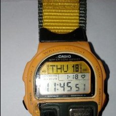 Relojes - Casio: RELOJ DE PULSERA CABALLERO CASIO DIGITAL WATER 50 M RESIST,BP-100, SENSOR, JAPAN. Lote 109552403