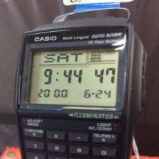 Relojes - Casio: RELOJ CASIO DBC 32 1A - CALCULADORA - ¡¡ NUEVO !!. Lote 109999767