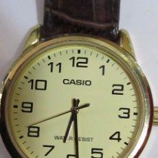 Relojes - Casio: RELOJ CASIO DE CUARZO, CHAPADO EN ORO. Lote 110563379