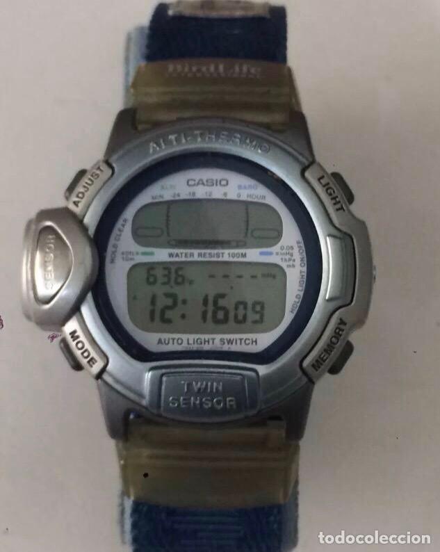 RELOJ CASIO PRL-20 ALTI-THERMO TWIN SENSOR FUNCIONA PERFECTAMENTE (Relojes - Relojes Actuales - Casio)