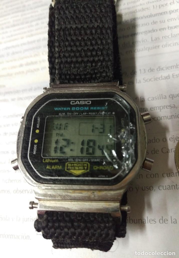 RELOJ CASIO VINTAGE FUNCIONANDO (Relojes - Relojes Actuales - Casio)