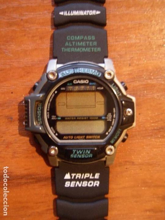 Reloj casio prt 30 prt30 termometro altimetro b Vendido en