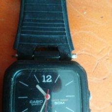 Relojes - Casio: RELOJ CASIO ANALOGICO Y DIGITAL NEGRO DEL 85. Lote 112697119