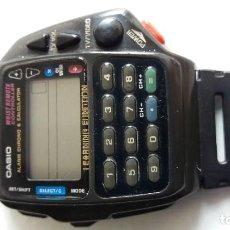 Relojes - Casio: F-445- RELOJ ORIGINAL CASIO CALCULADORA - 1175 CMD 40B. MODELO HECHO SÓLO PARA JAPÓN.VER ABAJO. Lote 112729519
