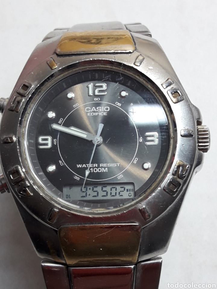 Casio Efa Edifice Reloj 108 Analogico Digital 8PkXOwNn0