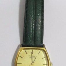 Relojes - Casio: RELOJ CUARZO MARCA CITIZEN CHAPADO EN ORO. Lote 113991843