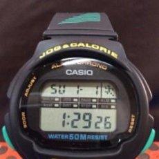 Relojes - Casio: RELOJ CASIO LJC 10 ¡¡ JOG & CALORIE !! VINTAGE !!NUEVO!!. Lote 114312571