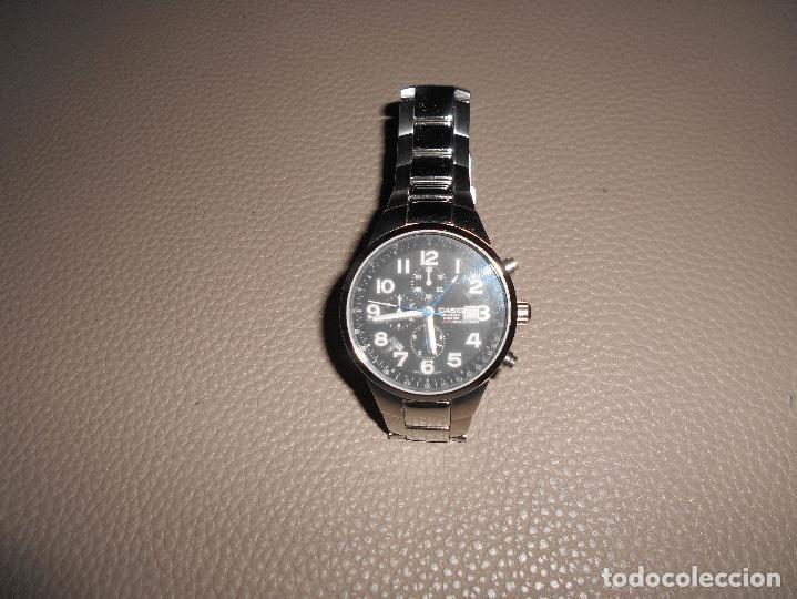 RELOJ ACERO CUARZO 2714 CASIO OCEANUS OC 501 ACERO 10 BAR. JAPON JAPAN CRONO ALARMA (Relojes - Relojes Actuales - Casio)