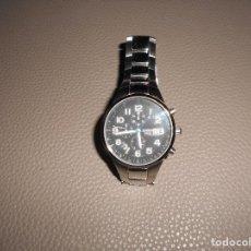 Relojes - Casio: RELOJ ACERO CUARZO 2714 CASIO OCEANUS OC 501 ACERO 10 BAR. JAPON JAPAN CRONO ALARMA. Lote 134559913