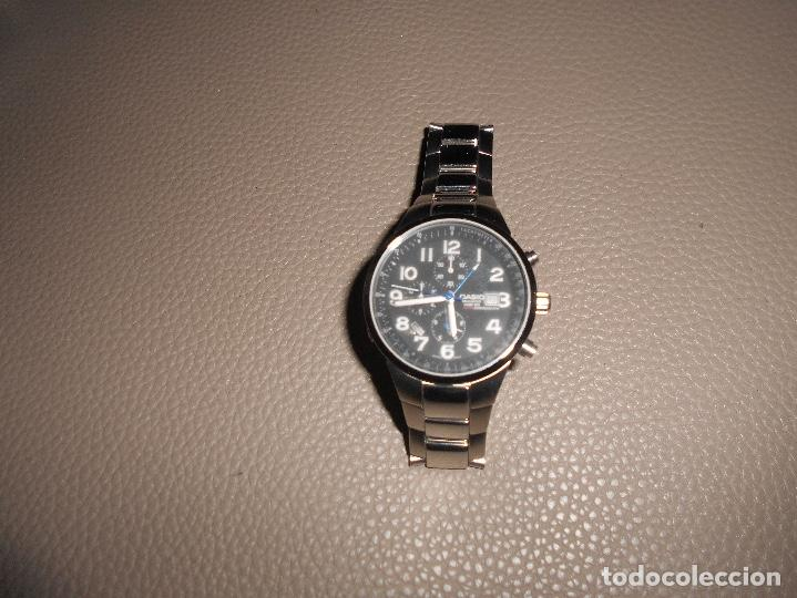 Relojes - Casio: RELOJ ACERO CUARZO 2714 Casio Oceanus OC 501 ACERO 10 BAR. JAPON JAPAN CRONO ALARMA - Foto 2 - 134559913
