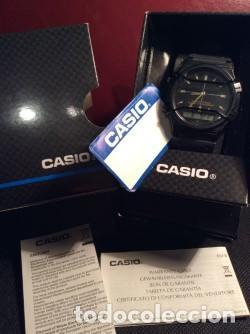 Relojes - Casio: RELOJ CASIO AW 5 CON ¡¡ BARRAS PROTECTORAS !! VINTAGE ¡¡ AÑOS 90 !! - ¡¡¡¡NUEVO!!!! - Foto 5 - 132332939