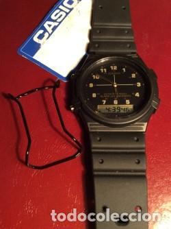 Relojes - Casio: RELOJ CASIO AW 5 CON ¡¡ BARRAS PROTECTORAS !! VINTAGE ¡¡ AÑOS 90 !! - ¡¡¡¡NUEVO!!!! - Foto 3 - 131650726