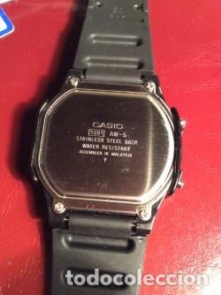 Relojes - Casio: RELOJ CASIO AW 5 CON ¡¡ BARRAS PROTECTORAS !! VINTAGE ¡¡ AÑOS 90 !! - ¡¡¡¡NUEVO!!!! - Foto 4 - 131650726