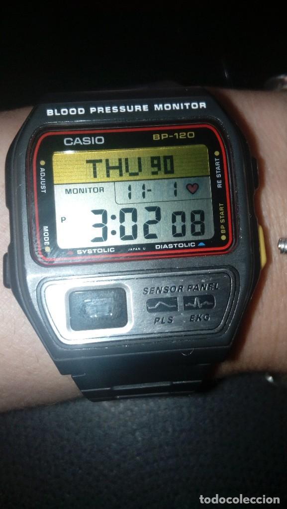 6e33b3afc1a5 Reloj casio bp-120 pulsometro