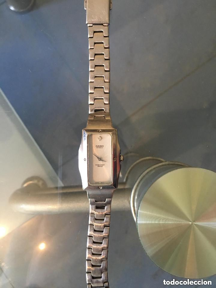 RELOJ CASIO SHEEN REFERENCIA 705 SHN-119 FUNCIONANDO SEÑORA (Relojes - Relojes Actuales - Casio)
