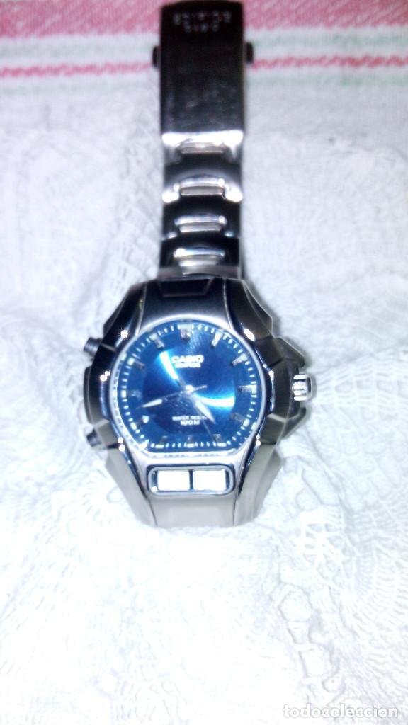 Relojes - Casio: RELOJ CASIO-EDIFICE 2.318 EFA-100 - COMPLET. ACERO CROMADO. FUNCIONANDO. PILA NU. OCTUB 2.018. FOTOS - Foto 9 - 115784843