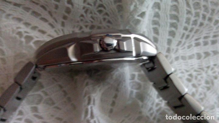 Relojes - Casio: RELOJ CASIO-EDIFICE 2.318 EFA-100 - COMPLET. ACERO CROMADO. FUNCIONANDO. PILA NU. OCTUB 2.018. FOTOS - Foto 11 - 115784843