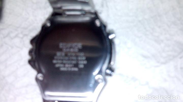 Relojes - Casio: RELOJ CASIO-EDIFICE 2.318 EFA-100 - COMPLET. ACERO CROMADO. FUNCIONANDO. PILA NU. OCTUB 2.018. FOTOS - Foto 12 - 115784843