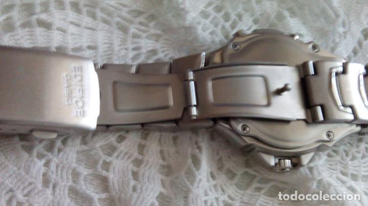 Relojes - Casio: RELOJ CASIO-EDIFICE 2.318 EFA-100 - COMPLET. ACERO CROMADO. FUNCIONANDO. PILA NU. OCTUB 2.018. FOTOS - Foto 15 - 115784843