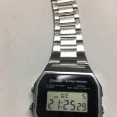 Relojes - Casio: RELOJ CASIO A158WE WATER RESISTEN WR. Lote 143124004