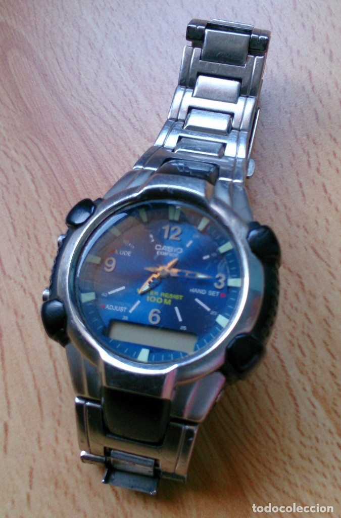 97f514ba96e3 Relojes - Casio  Reloj Casio Edifice EFA 101 1301 vintage - Foto 2 -  118146091