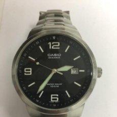 Relojes - Casio: RELOJ CASIO OCEANUS OC-103 EN ACERO COMPLETO 100 M. Lote 118546271