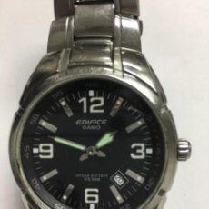 Relojes - Casio: RELOJ CASIO EDIFICE EF-125 EN ACERO COMPLETO 100M EN FUNCIONAMIENTO . Lote 118546607